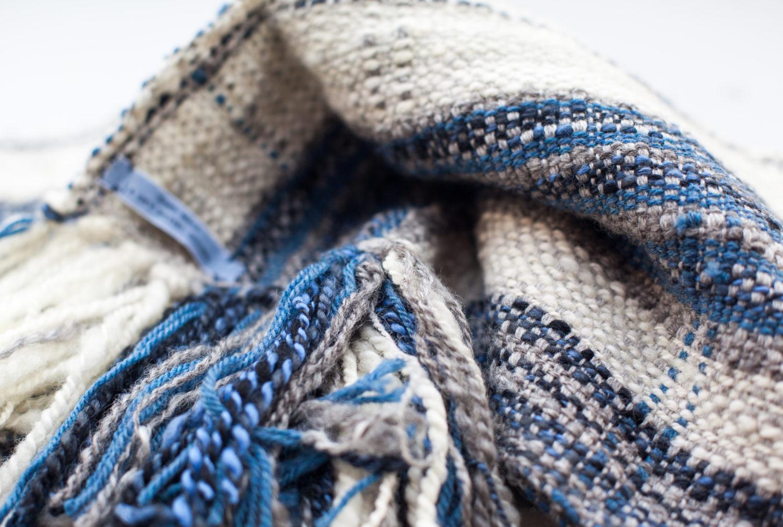 blue and cream 25 x 180