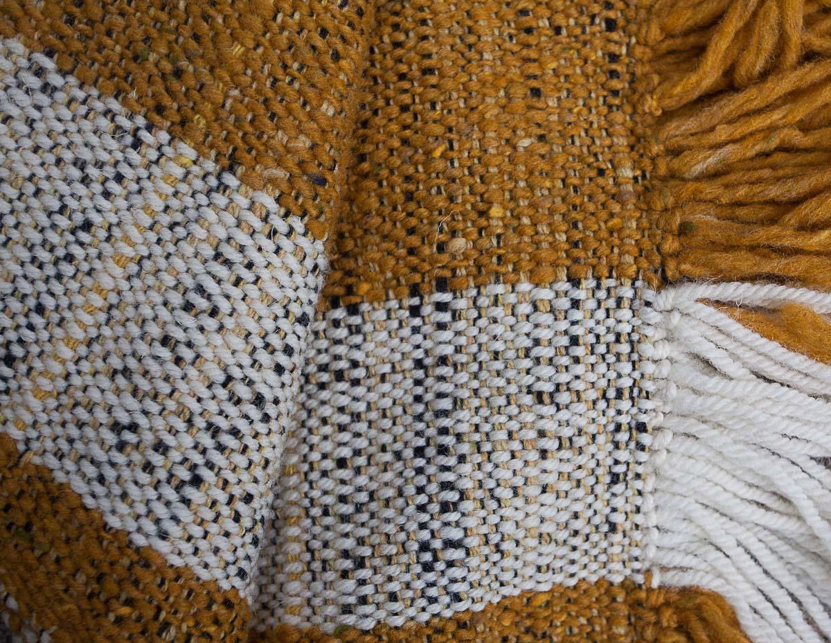 ochre and cream 30 x 140